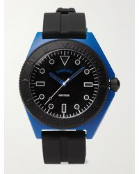 BAMFORD LONDON Mayfair Sport Limited Edition Polymer And Rubber Watch - Black