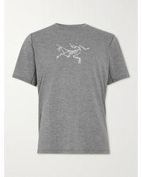 Arc'teryx Cormac Logo-print Ostria T-shirt - Grey