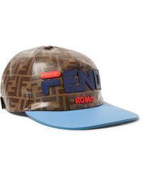 Fendi - Mania Baseball Hat - Lyst 72026a75ccb