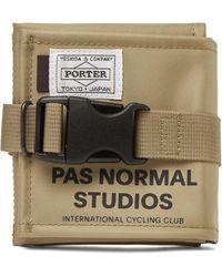 Pas Normal Studios Porter-yoshida & Co Logo-print Shell Pouch - Multicolour