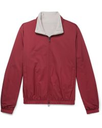 Loro Piana - Windmate Reversible Storm System Shell And Cashmere Bomber Jacket - Lyst