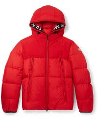 Moncler - Montclar Grosgrain-trimmed Quilted Shell Hooded Down Jacket - Lyst