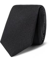 Saint Laurent - 5cm Silk-faille Tie - Lyst