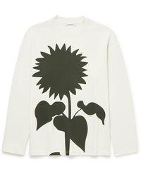 Craig Green Printed Cotton-jersey Sweatshirt - White