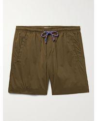 Alex Mill Shell Drawstring Shorts - Green