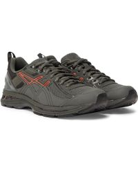 Asics - + Kiko Kostadinov Gel-burz 2 Mesh And Leather Trainers - Lyst