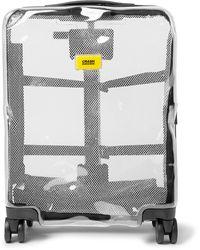 Crash Baggage Share Cabin Transparent Polycarbonate Suitcase - Gray
