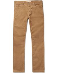 Norse Projects - Edvard Cotton-corduroy Trousers - Lyst
