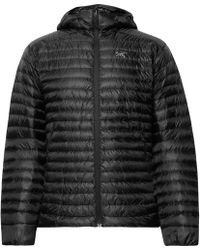 Arc'teryx Cerium Sl Packable Quilted Shell Hooded Down Jacket - Black