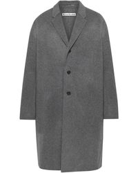 Acne Studios Chad Double-faced Wool Coat - Gray