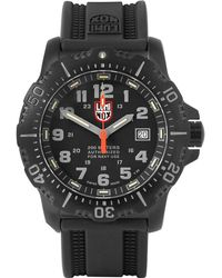 Luminox - Anu 4221 Stainless Steel And Rubber Watch - Lyst