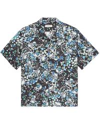 Givenchy Camp-collar Printed Cotton Shirt - Multicolour
