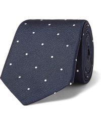 Paul Smith - 6.5cm Polka-dot Silk-jacquard Tie - Lyst