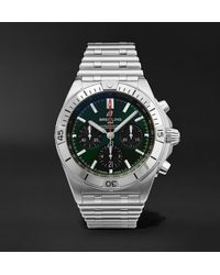 Breitling Chronomat B01 Bentley Edition Automatic Chronograph 42mm Stainless Steel Watch - Black