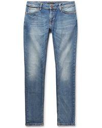 Nudie Jeans - Skinny Lin Organic Stretch-denim Jeans - Lyst