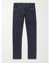 Tom Ford Slim-fit Stretch-denim Jeans - Blue