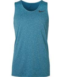 Nike - Breathe Mélange Jersey Tank Top - Lyst
