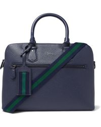Polo Ralph Lauren - Pebble-grain Leather Briefcase - Lyst