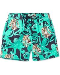 Vilebrequin - Moorea Mid-length Printed Swim Shorts - Lyst