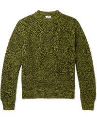 Cmmn Swdn - Toby Mélange Merino Wool Sweater - Lyst