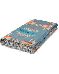 Pendleton Cotton-terry Jacquard Towel - Blue