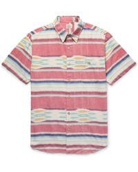 Faherty Brand - Coast Striped Cotton Shirt - Lyst