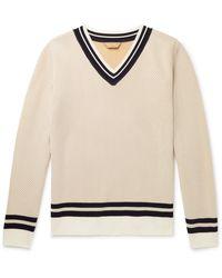 Yuri & Yuri Striped Serie-knit Sweater - Multicolor