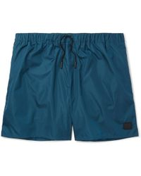 Acne Studios Perry Mid-length Swim Shorts - Blue