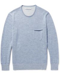 Outerknown - Buenas Noches Baby Alpaca And Organic Cotton-blend Sweater - Lyst