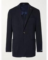 Peter Millar Knobb Wool Blazer - Blue