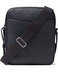 0732531994 Dunhill - Hampstead Full-grain Leather Messenger Bag - Lyst