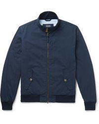 J.Crew - Cotton And Nylon-blend Blouson Jacket - Lyst