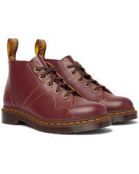 Dr. Martens Church Leather Monkey Boots - Multicolour