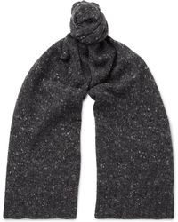 Anderson & Sheppard - Donegal Wool-blend Scarf - Lyst
