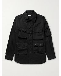 Engineered Garments Explorer Cotton-twill Shirt Jacket - Black