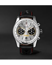 Bremont - Norton V4 Automatic Chronometer 43mm Stainless Steel And Leather Watch - Lyst