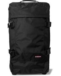 Eastpak Tranverz M Canvas Suitcase - Black