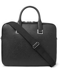 Dunhill Cadogan Full-grain Leather Briefcase - Black