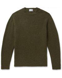 Kingsman Shetland Wool Sweater - Green