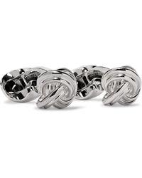 Deakin & Francis Sterling Silver Cufflinks - Metallic