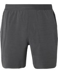 lululemon athletica Switch Up Stretch-shell And Mesh Shorts - Gray