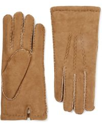 Dents - York Shearling Gloves - Lyst