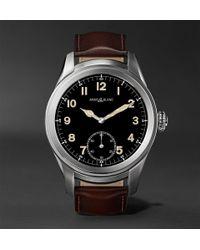 Montblanc - Summit 46mm Titanium And Leather Smartwatch - Lyst