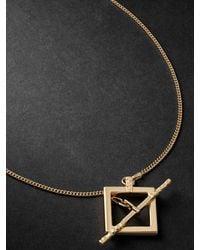 Laud 18-karat Gold Necklace - Metallic
