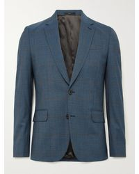 Paul Smith - Slim-fit Prince Of Wales Checked Wool-blend Suit Jacket - Lyst