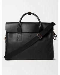 Bennett Winch Full-grain Leather Briefcase - Black