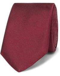 BOSS - 6cm Pin-dot Silk Tie - Lyst