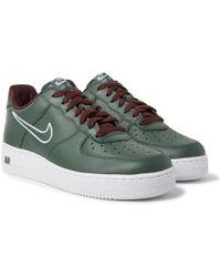 Nike - Air Force 1 Hong Kong Retro Full-grain Leather Sneakers - Lyst