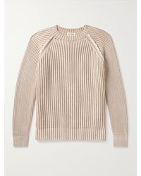 Tod's Ribbed Cotton Jumper - Multicolour