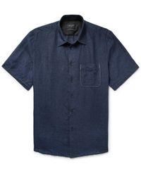 Rag & Bone - Slub Linen Shirt - Lyst